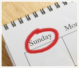 Sunday! Sunday! Sunday!