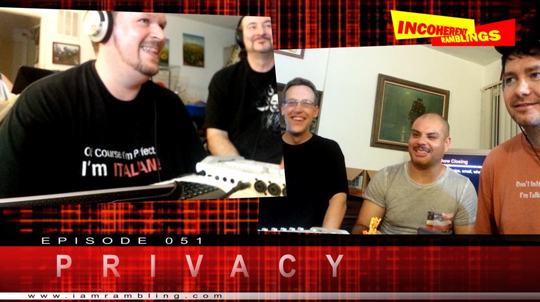 IR Video Episode 051 – Privacy