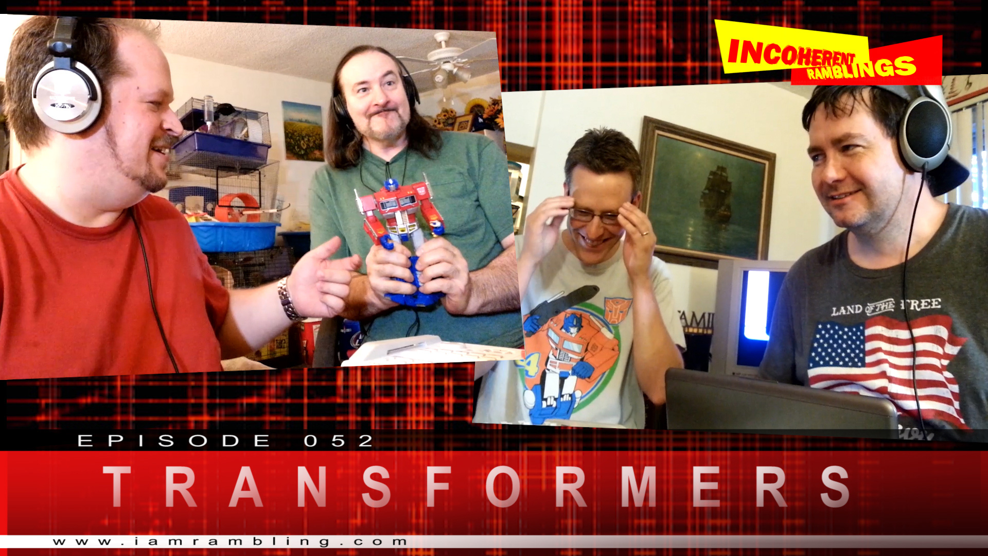 IR Video Episode 052 – Transformers