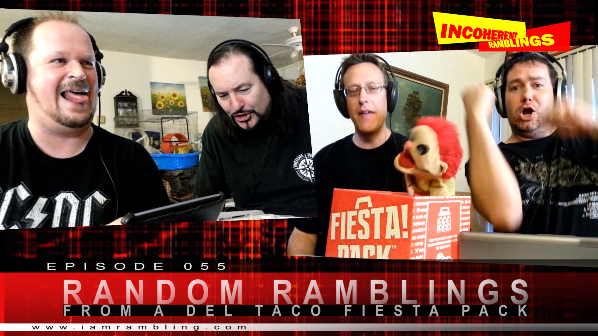 IR Video Episode 055 – RR from a Del Taco Fiesta Pack