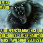 werewolfselfie