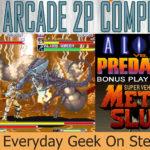 Let's Play AVP Arcade 2P Banner