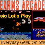 Let's Play Sidearms Arcade 2P Banner