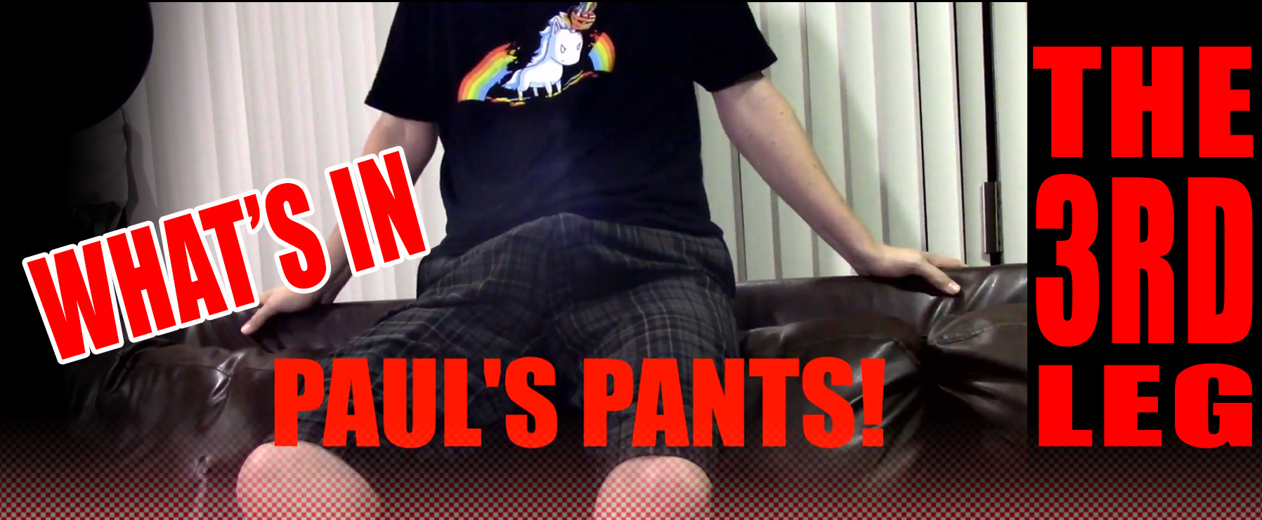 What's In Paul's Pants The Third Leg LIVE!